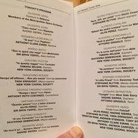 Снимок сделан в Stern Auditorium / Perelman Stage at Carnegie Hall пользователем Philip R. 12/10/2017
