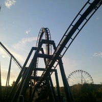 Photo taken at Six Flags St Louis by Chuck M. on 10/8/2012