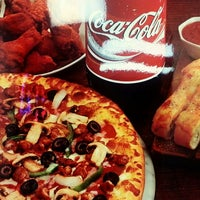 Photo taken at Domino's Pizza by Lorin B. on 4/1/2013