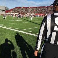 Photo taken at Warren McGuirk Alumni Stadium by Alex D. on 11/21/2015