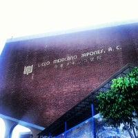 Photo taken at Liceo Mexicano Japonés by Yuta A. on 10/22/2012
