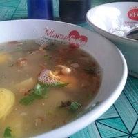 Photo taken at Sop Ayam Pak Min Klaten RAGIL by Desiana T. on 1/3/2015