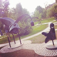 Photo taken at Какой-то Парк В Хабаровске by Евгений Б. on 9/21/2014