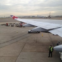 Photo taken at Virgin Atlantic Flight VS45 by Julian Y. on 12/18/2012