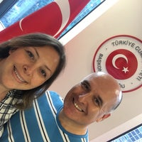 Photo taken at Consulate General of Turkey by Muge on 6/16/2018