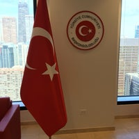 Photo taken at Consulate General of Turkey by Muge on 4/13/2016