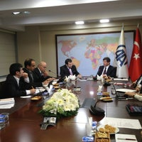 Photo taken at Anadolu Ajansı Editör Masası by Hamdi Ç. on 1/18/2013