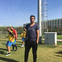 Photo taken at wow kremlin futbol sahası by Cihat Ş. on 10/28/2016