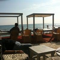 Photo taken at Bagni Ponterosso - Windsurf Center by Gianfranco E. on 10/9/2012