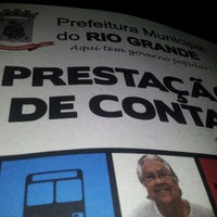 Photo taken at Prefeitura Municipal do Rio Grande by Yéssica L. on 7/5/2013
