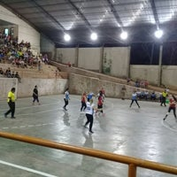 Photo taken at Polideportivo Padre Mario Gambutti by Andrés C. on 9/2/2017