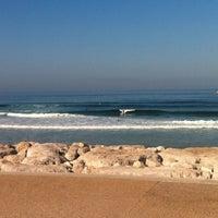 Photo taken at Praia do CDS by Alex d. on 7/4/2013