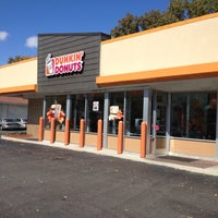Photo taken at Dunkin' Donuts by Cameron S. on 10/2/2012