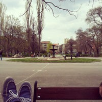 "Photo taken at Градина ""Буката"" by Fifo T. on 4/18/2013"