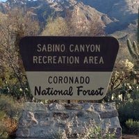 Photo taken at Sabino Canyon Recreation Area by Alan F. on 3/29/2013