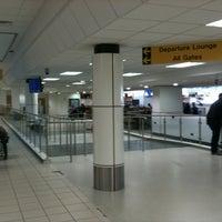 Photo taken at Belfast International Airport (BFS) by Genna K. on 11/4/2013