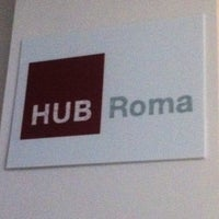 Photo taken at Impact Hub Roma by Diego A. on 3/26/2013