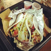 Photo taken at Burrito Boarder by Farina P. on 12/5/2012