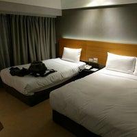 Photo taken at 凱統飯店 Kdm Hotel Taipei by honyoka on 7/8/2016
