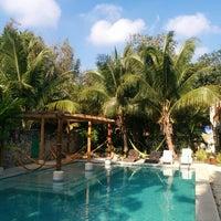 Photo taken at Nomadas hostel by Jeff G. on 3/18/2015