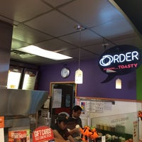Photo taken at Quiznos by dutchboy on 10/23/2013