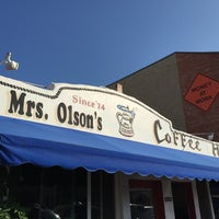 Photo taken at Mrs. Olsen's Coffee Hut by dutchboy on 9/5/2015