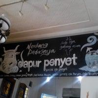 Photo taken at Dapur Penyet by Angga_M40 on 1/1/2014