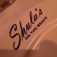 Photo taken at Shula's on the Beach by Bryan on 1/1/2013