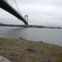 Photo taken at Bronx-Whitestone Bridge by Angel C. on 10/24/2012