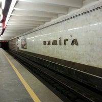 Снимок сделан в Станция метро «Немига» пользователем Алексей С. 2/23/2013