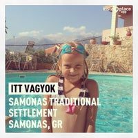 Photo taken at Samonas Traditional Settlement by Zsolt H. on 7/21/2013
