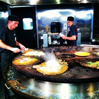 Photo taken at HuHot Mongolian Grill by Clarence S. on 9/15/2012