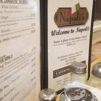 Photo taken at Napoli's Italian Restaurant by Carlos G. on 2/14/2018