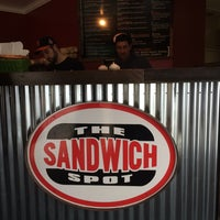 Photo taken at The Sandwich Spot by Olga S. on 1/17/2016