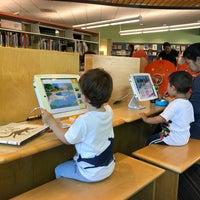 Photo taken at San Carlos Library by Olga S. on 6/23/2017