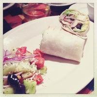 Photo taken at Santorini Mediterranean Kitchen by Olga S. on 11/22/2012