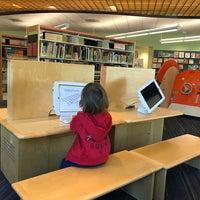 Photo taken at San Carlos Library by Olga S. on 3/28/2017