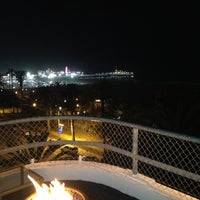Photo taken at Hotel Shangri La Rooftop Bar by Todd N. on 2/24/2013