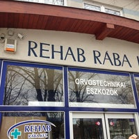 Photo taken at REHAB RÁBA Kft. by Roland F. on 3/8/2013