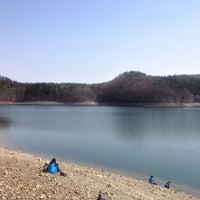 Photo taken at 青木湖 by ittosiki on 5/4/2013