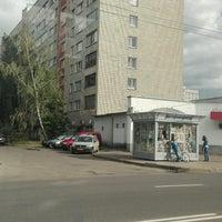 Photo taken at Остановка «Улица Кольцова» by Anya P. on 9/6/2016