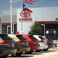 Photo taken at Alamo Toyota by Jeremy S. on 10/21/2013