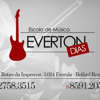 Photo taken at Escola de Musica Everton Dias by Anderson F. on 1/18/2013