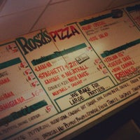Photo taken at Rosa's Pizza by Kandes on 10/25/2012