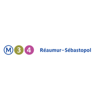 Photo taken at Métro Réaumur—Sébastopol [3,4] by RATP on 7/15/2013