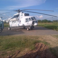 Photo taken at UN Logistics Base Bunia by Adeniyi O. on 1/14/2013