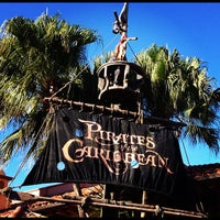 Photo taken at Pirates of the Caribbean by Jose T. on 10/29/2012