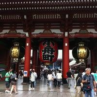 6/16/2013 tarihinde Pan K.ziyaretçi tarafından Senso-ji Temple'de çekilen fotoğraf