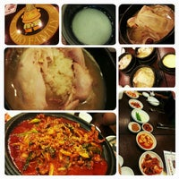 Photo taken at 명동삼계탕 by Samantha Y. on 10/4/2013