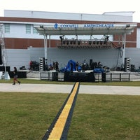 Photo taken at UNF Amphitheater by Lesley B. on 10/26/2012